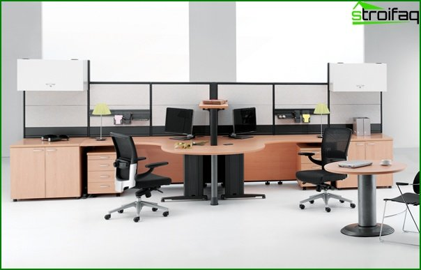 Office furniture (for staff) - 2