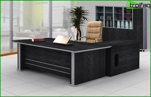 Muebles de oficina (mesa principal) - 2