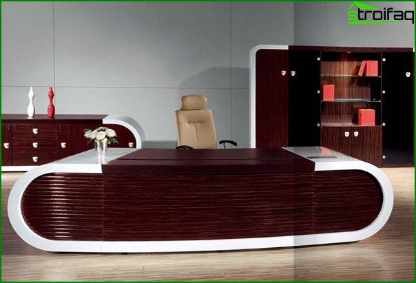 Muebles de oficina (mesa principal) - 3