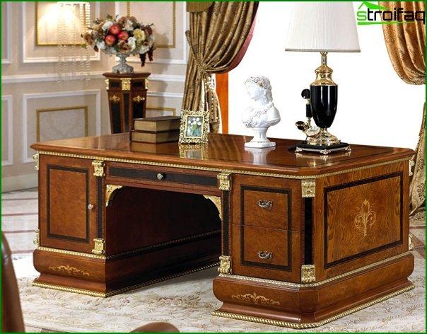 Muebles de oficina (mesa principal) - 4