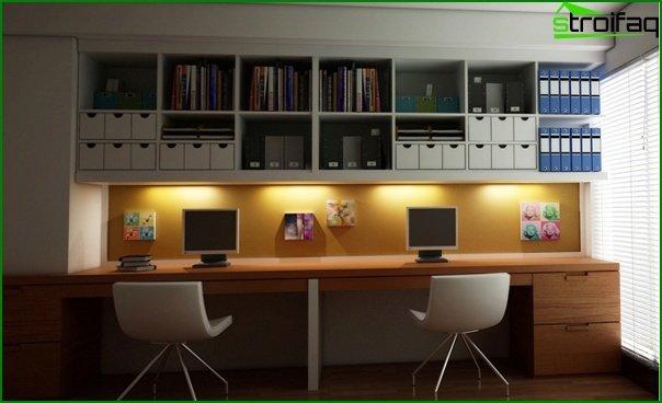 Muebles de oficina (mesa para el personal) - 1