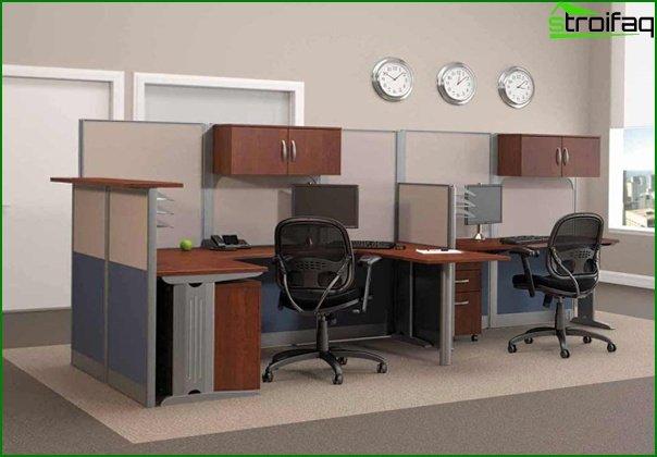 Muebles de oficina (mesa para el personal) - 3