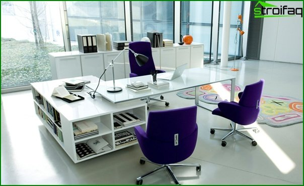 Office furniture (table for staff) - 4