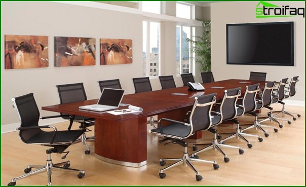 Muebles de oficina (mesa de reuniones) - 1
