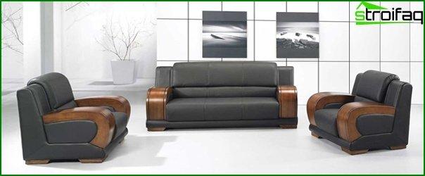 Muebles de oficina (sofás de oficina) - 1