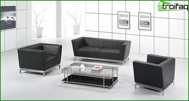 Muebles de oficina (sofás de oficina) - 4