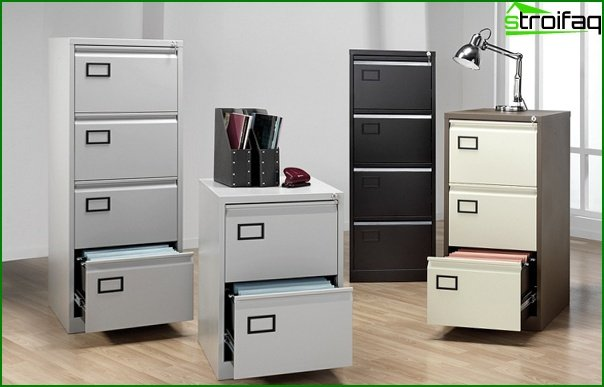 Office furniture (file cabinets) - 1