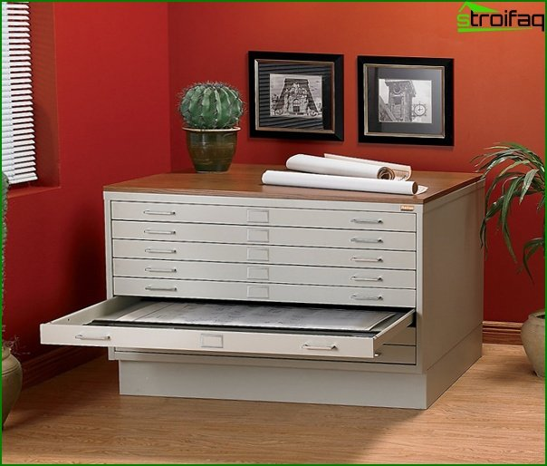 Office furniture (side tables) - 5