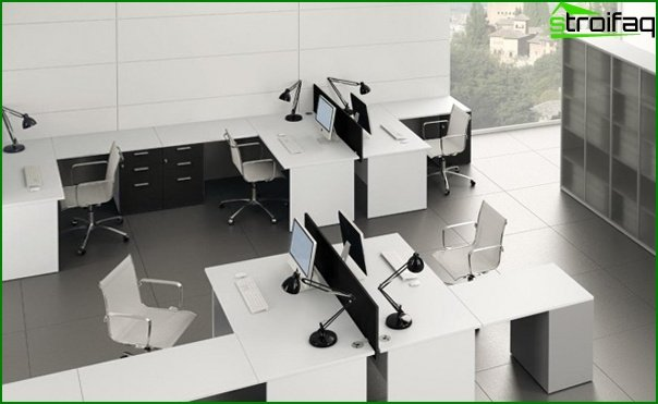 Office furniture (minimalism) - 1