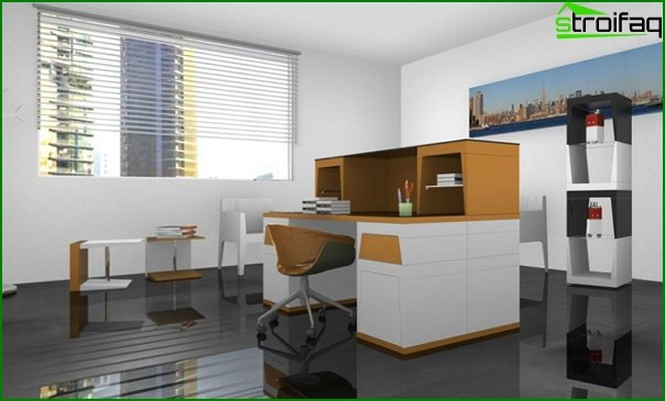 Office furniture (minimalism) - 2