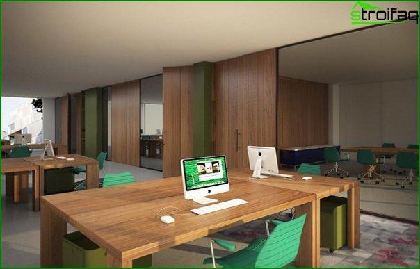 Muebles de oficina (minimalismo) - 4