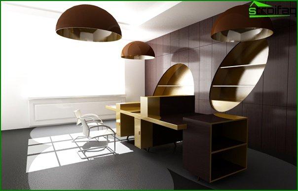 Mobiliario de oficina (moderno) - 1
