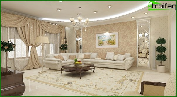 Furniture for a drawing room (classical style) - 1