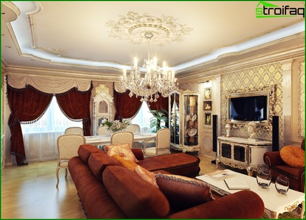 Living room furniture (classic style) - 2