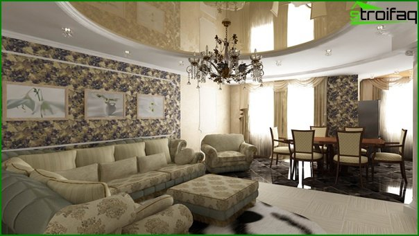 أثاث غرفة المعيشة (النمط الكلاسيكي) - 3