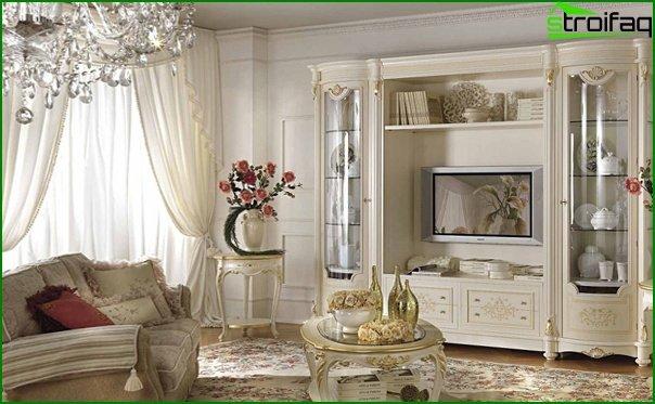 أثاث غرفة المعيشة (النمط الكلاسيكي) - 4