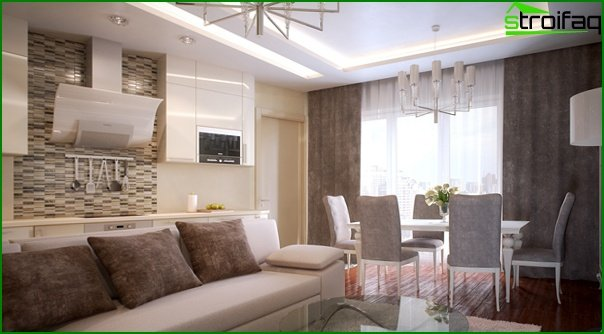 Living room furniture (modern style) - 3