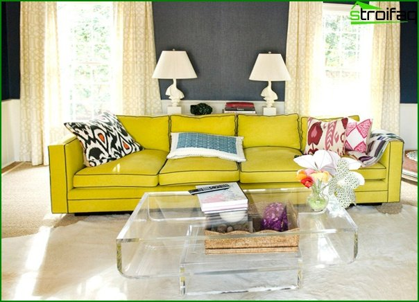 Living room furniture (retro style) - 3