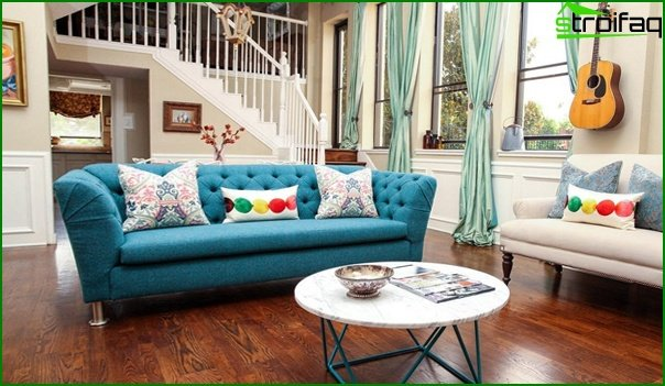 Living room furniture (retro style) - 4