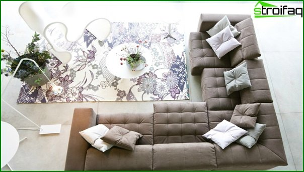 Set for a drawing room (sofa) - 3