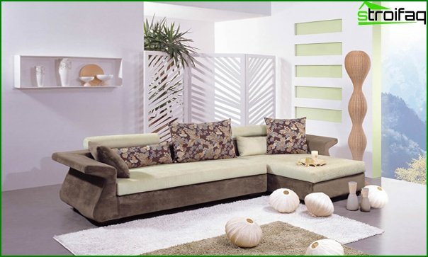 Set for a drawing room (sofa) - 4