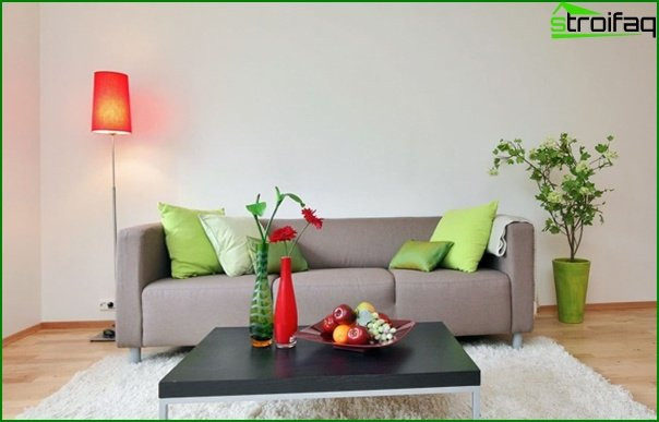 Set for a drawing room (sofa) - 5