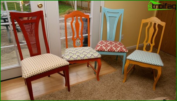 Set for a drawing room (chairs) - 3