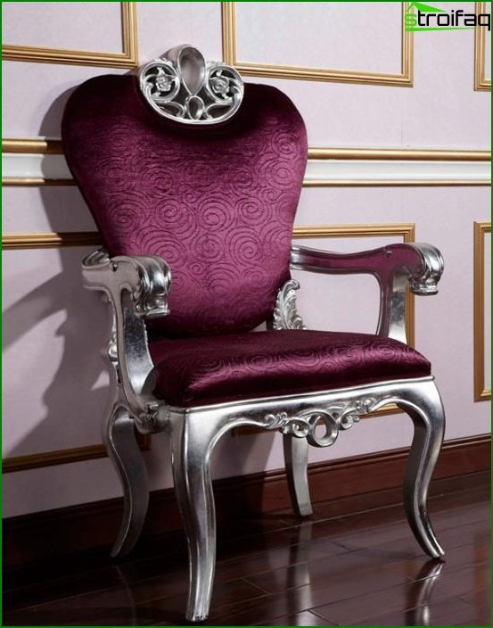 Set for a drawing room (chairs) - 4