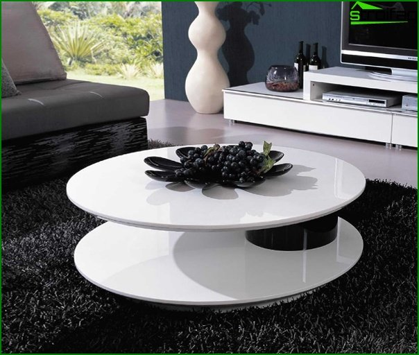 Set for a drawing room (coffee table) - 5