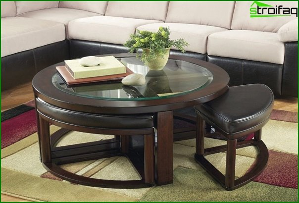 Living room furniture (coffee table) - 1