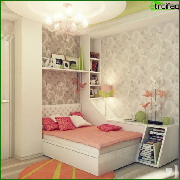 The subtleties of creating a children's room for sleeping - photo