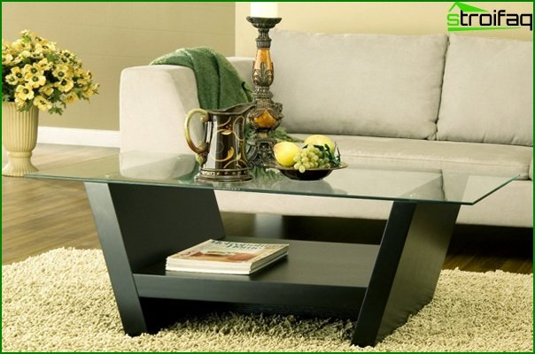 أثاث غرفة المعيشة (طاولة القهوة) - 2