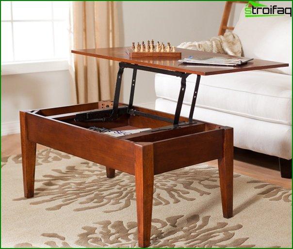 أثاث غرفة المعيشة (طاولة القهوة) - 3