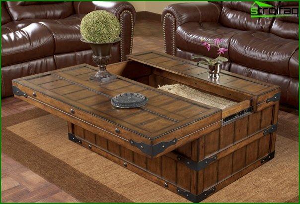 أثاث غرفة المعيشة (طاولة القهوة) - 4