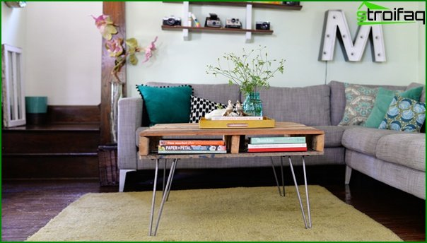 Living room furniture (coffee table) - 5