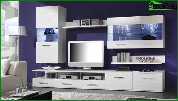 أثاث غرفة المعيشة (وحدات) - 1