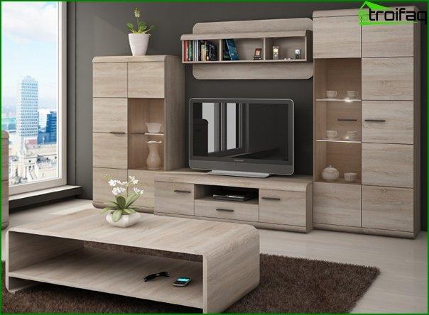 أثاث غرفة المعيشة (وحدات) - 2
