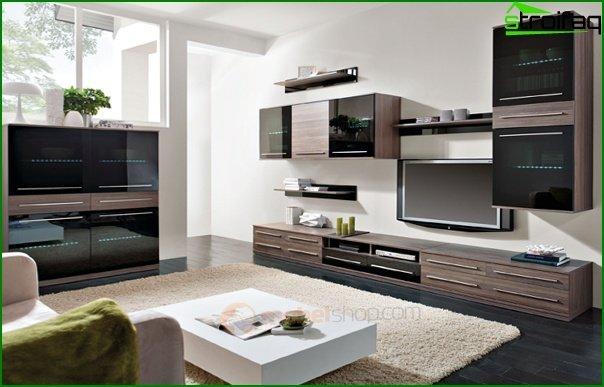 أثاث غرفة المعيشة (وحدات) - 4
