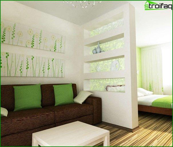 أثاث غرفة المعيشة (تقسيم المناطق) - 5