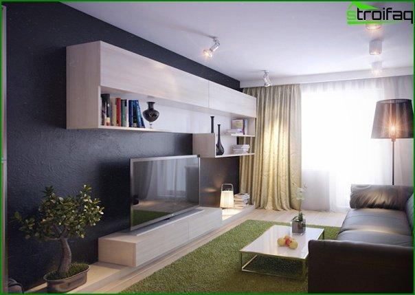 أثاث غرفة المعيشة (خروتشوف) - 4