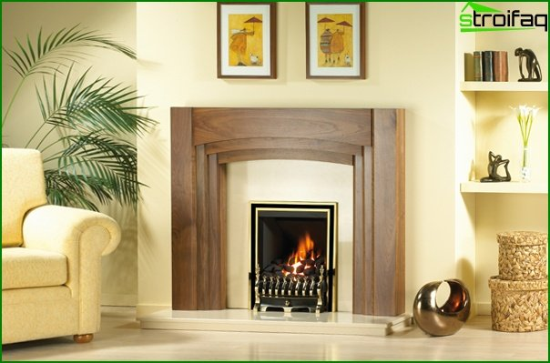 Furniture for a drawing room (fireplace) - 3