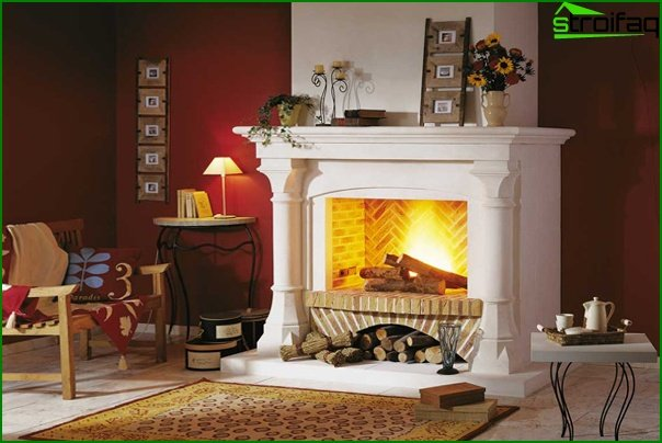 Living Room Furniture (fireplace) - 4
