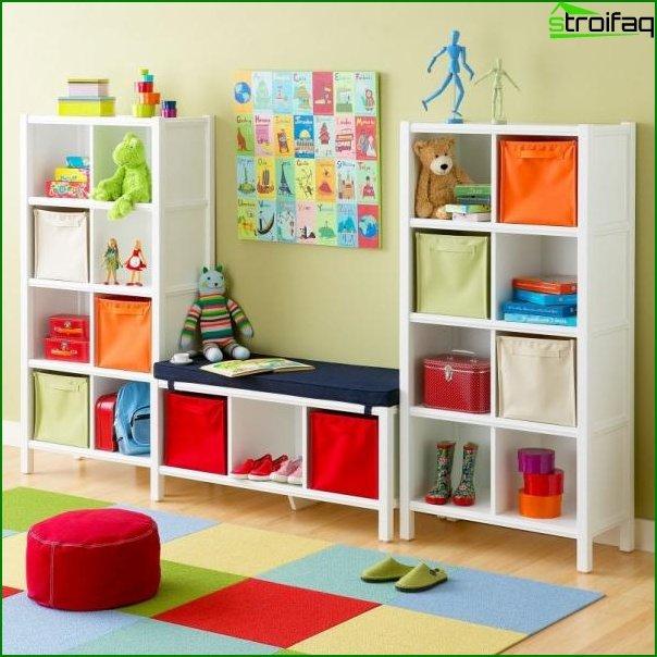 Foto de una habitación infantil para un niño de 3-5 años
