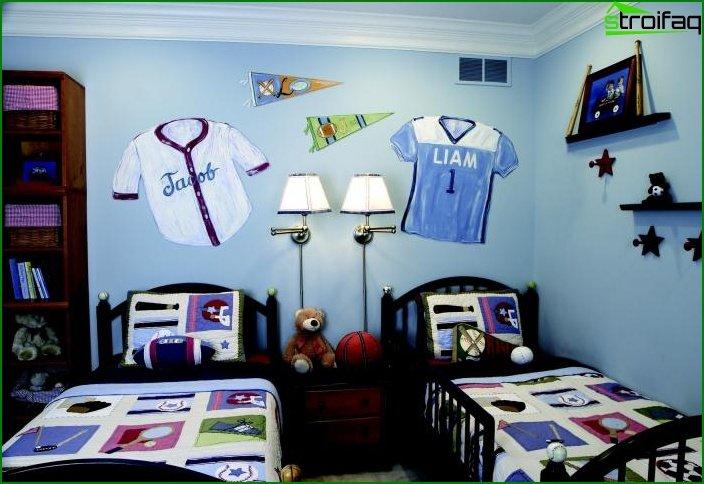 Diseño de habitaciones para dos niños