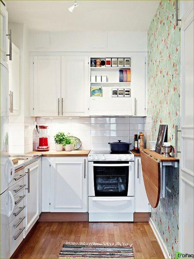 cocina estrecha