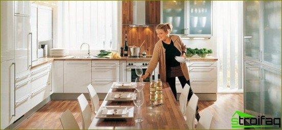 ซ่อมแซมและออกแบบตกแต่งภายในห้องครัว