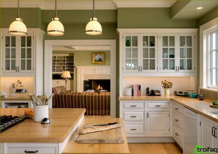 como elegir el color de la cocina