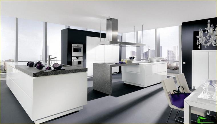 Large kitchen - photo