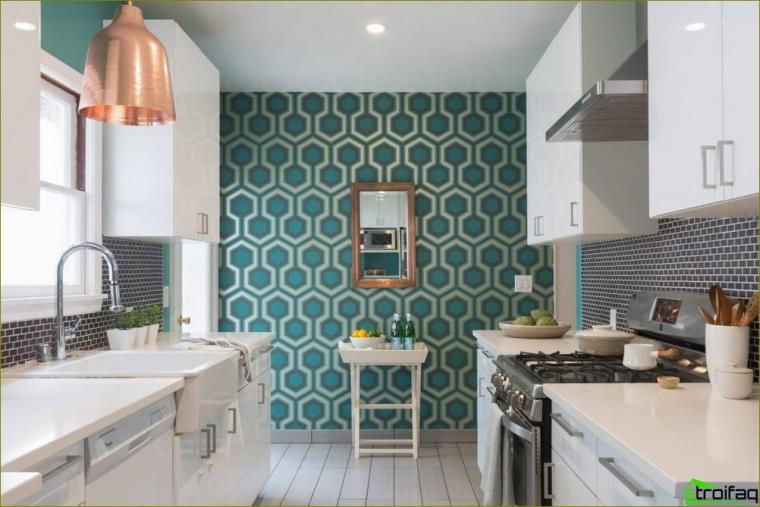 akcento siena virtuvėje