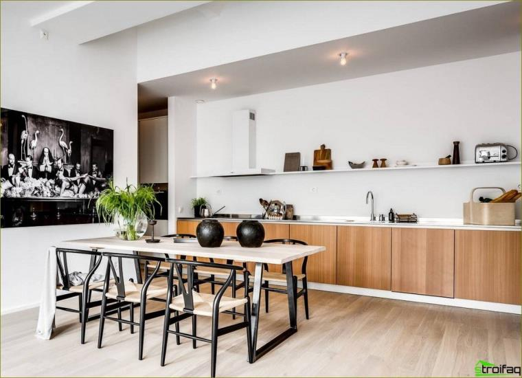 Küchen ohne Oberschränke